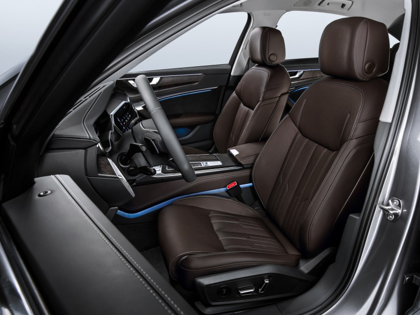 Audi A6 2019 didedah dengan sistem hibrid ringkas Image #784153