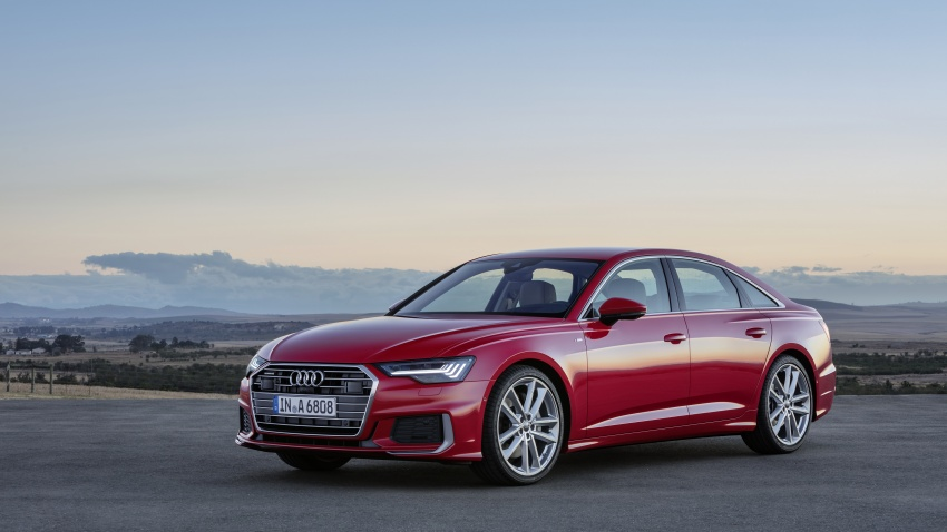 2019 Audi A6 officially revealed with mild hybrid tech Image #784071