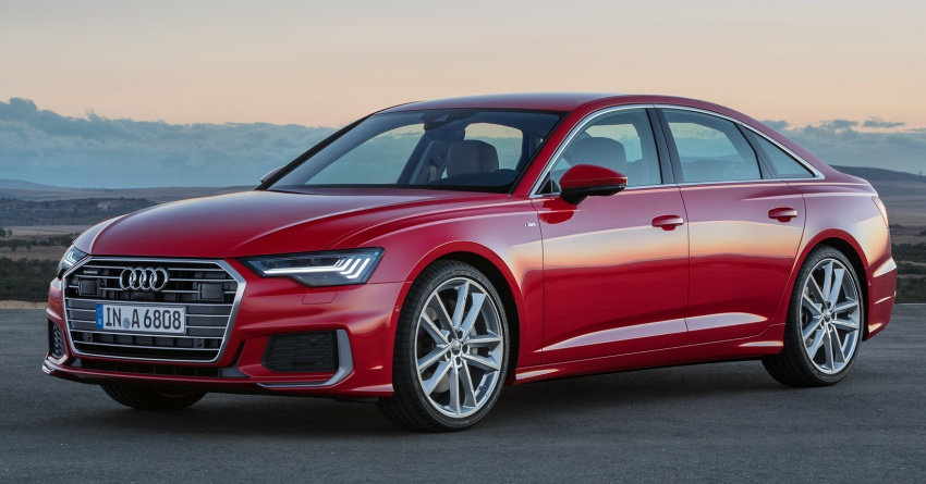 Audi A6 2019 didedah dengan sistem hibrid ringkas Image #784154