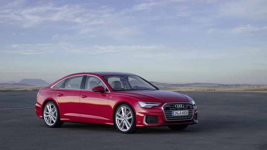 2019 Audi A6 officially revealed with mild hybrid tech Image #784072