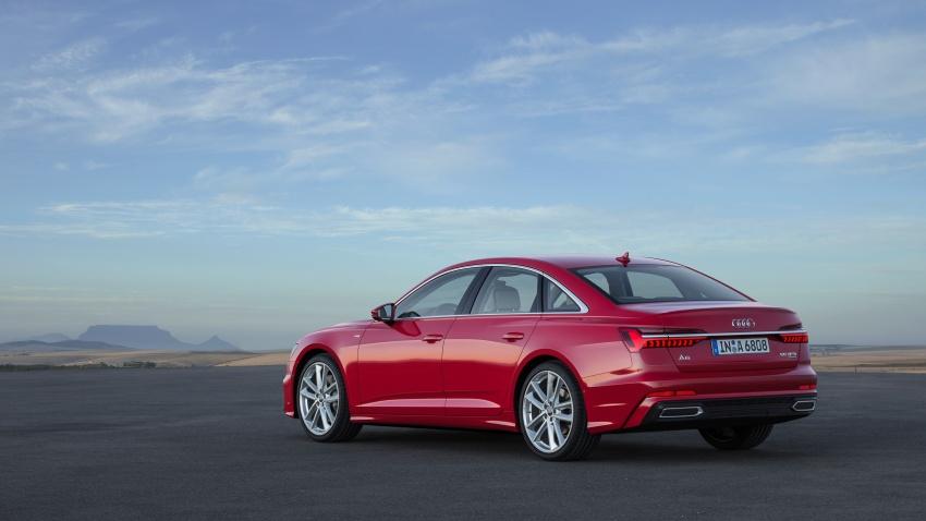 Audi A6 2019 didedah dengan sistem hibrid ringkas Image #784156