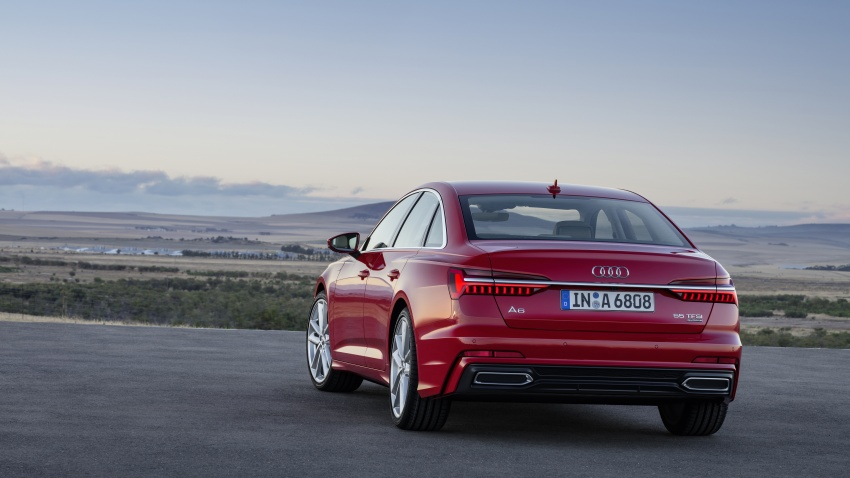 2019 Audi A6 officially revealed with mild hybrid tech Image #784074