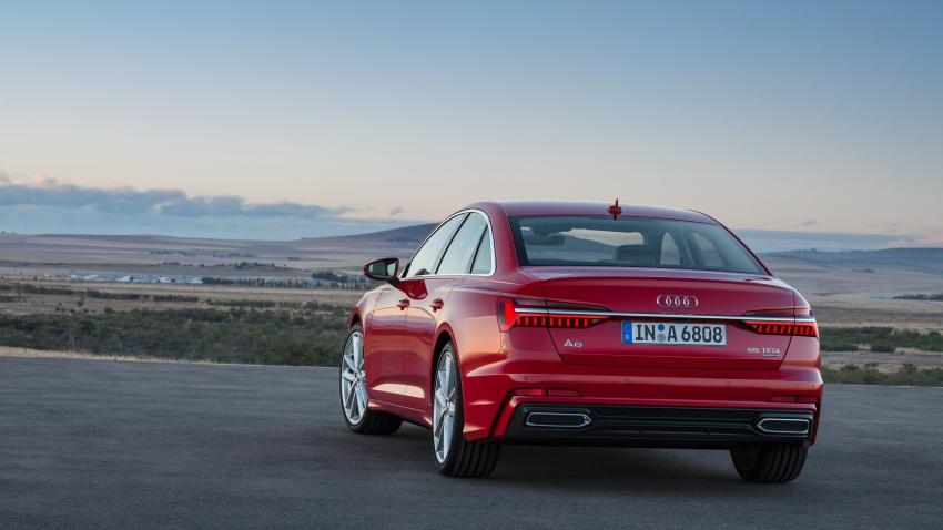Audi A6 2019 didedah dengan sistem hibrid ringkas Image #784157