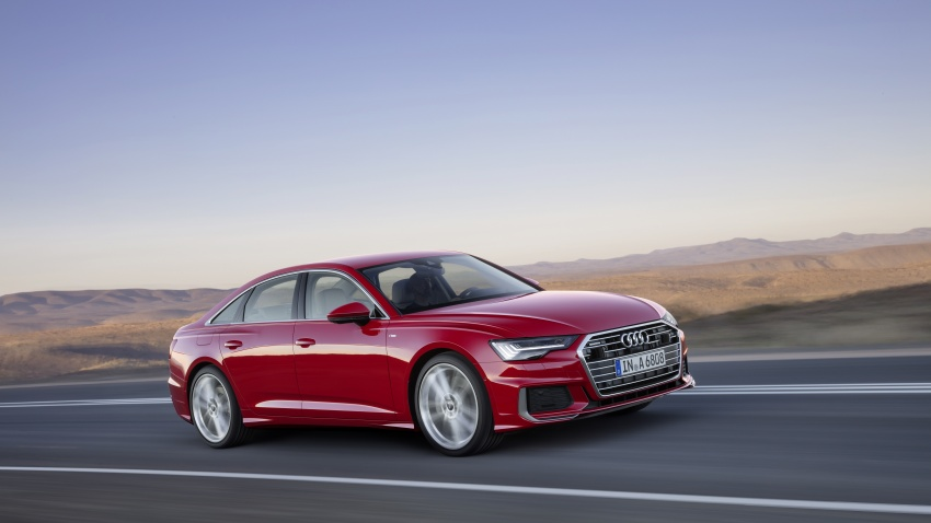 2019 Audi A6 officially revealed with mild hybrid tech Image #784075