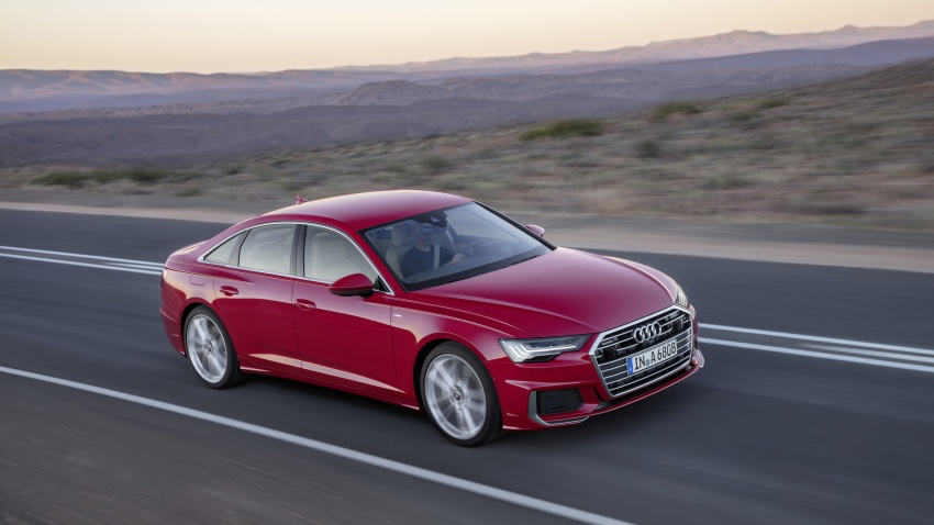 2019 Audi A6 officially revealed with mild hybrid tech Image #784076