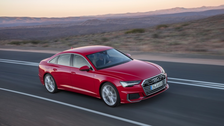 Audi A6 2019 didedah dengan sistem hibrid ringkas Image #784159
