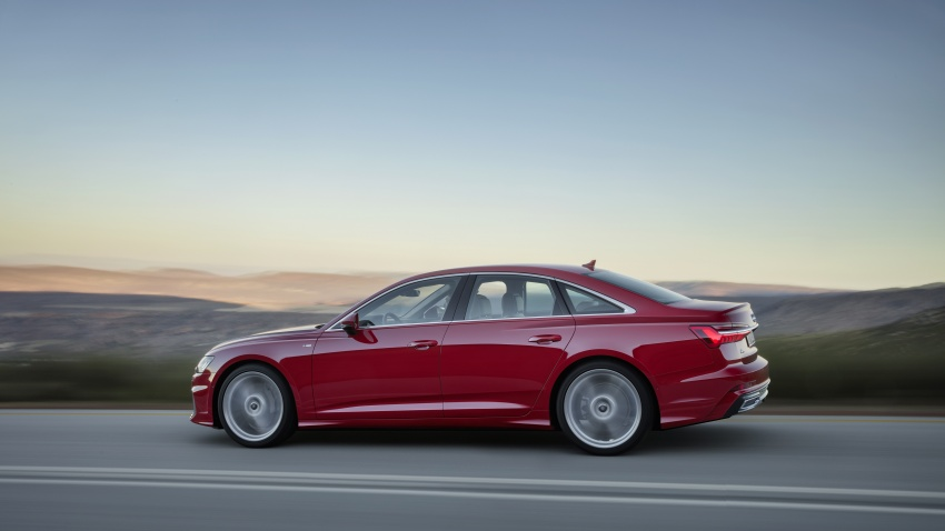 2019 Audi A6 officially revealed with mild hybrid tech Image #784077