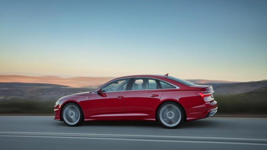 Audi A6 2019 didedah dengan sistem hibrid ringkas Image #784160