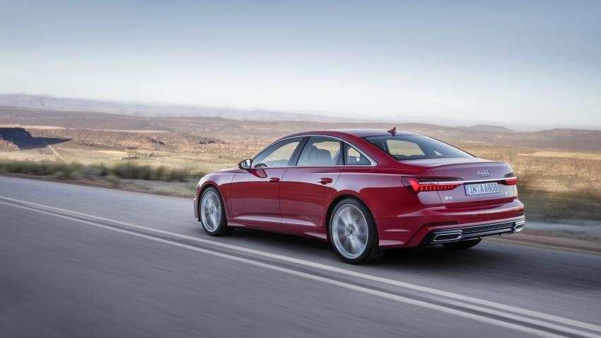 2019 Audi A6 officially revealed with mild hybrid tech Image #784078