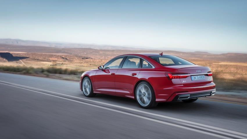 Audi A6 2019 didedah dengan sistem hibrid ringkas Image #784161