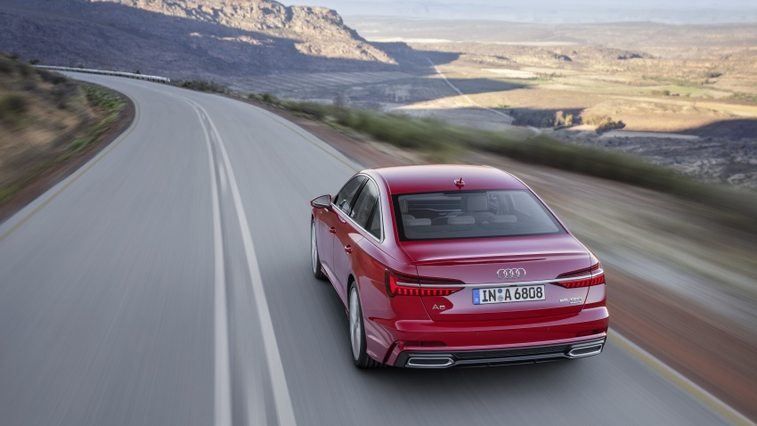 2019 Audi A6 officially revealed with mild hybrid tech Image #784079