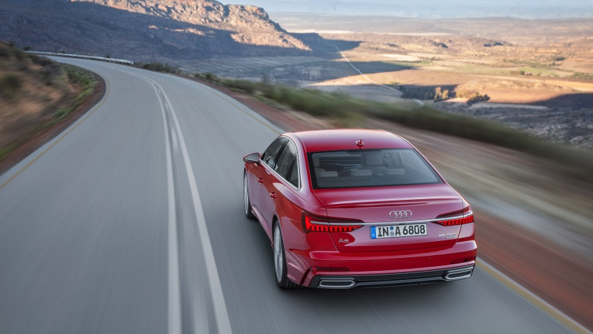 Audi A6 2019 didedah dengan sistem hibrid ringkas Image #784162