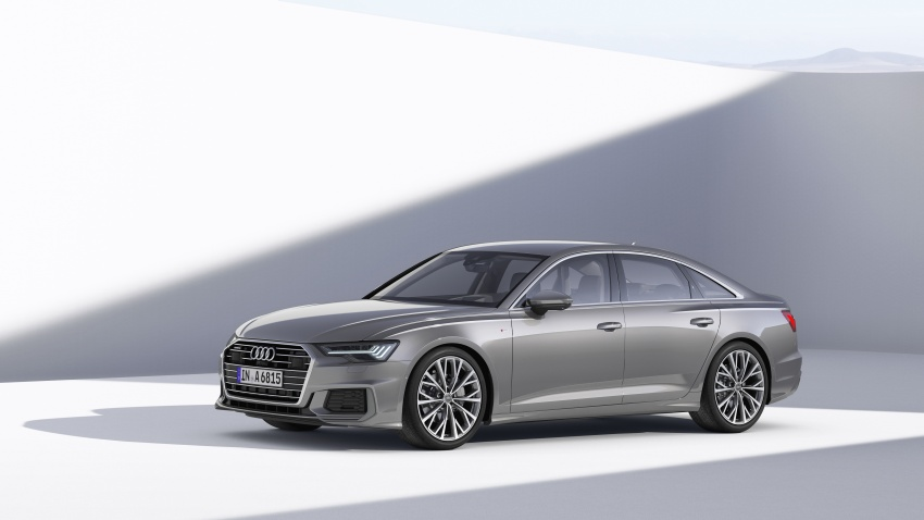 2019 Audi A6 officially revealed with mild hybrid tech Image #784062