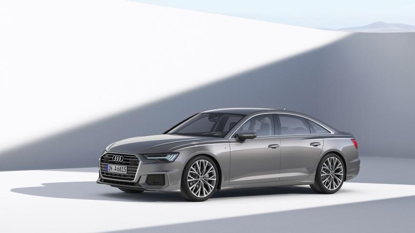 Audi A6 2019 didedah dengan sistem hibrid ringkas Image #784145