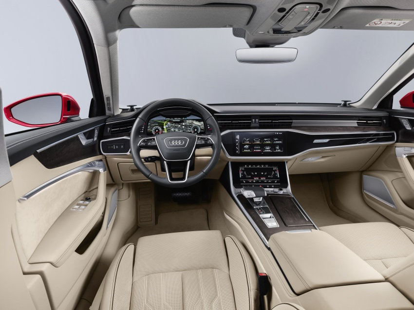 2019 Audi A6 officially revealed with mild hybrid tech Image #784080