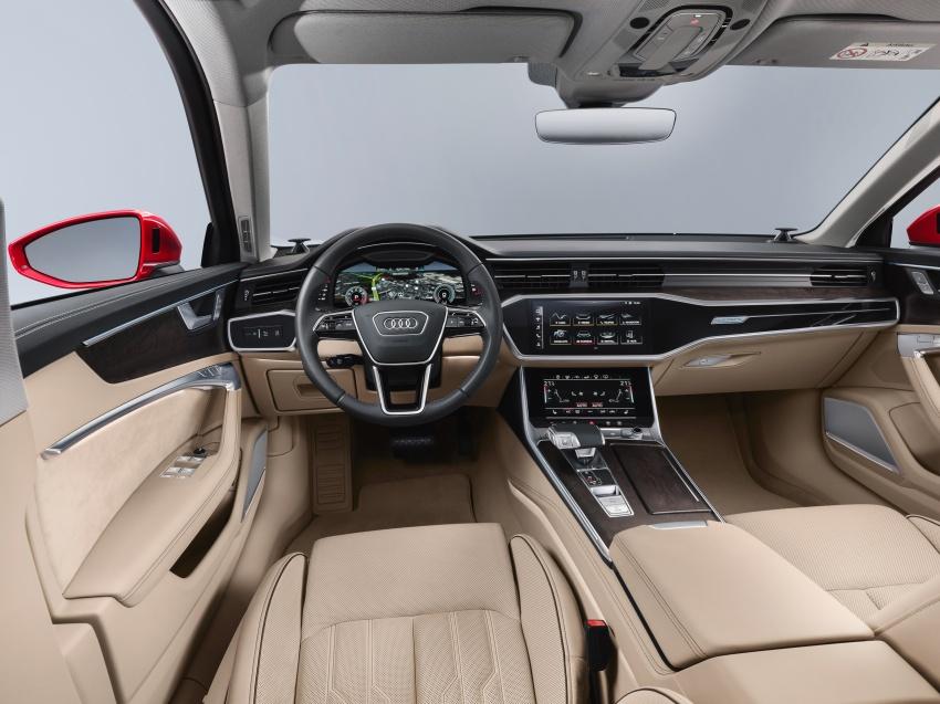 Audi A6 2019 didedah dengan sistem hibrid ringkas Image #784163