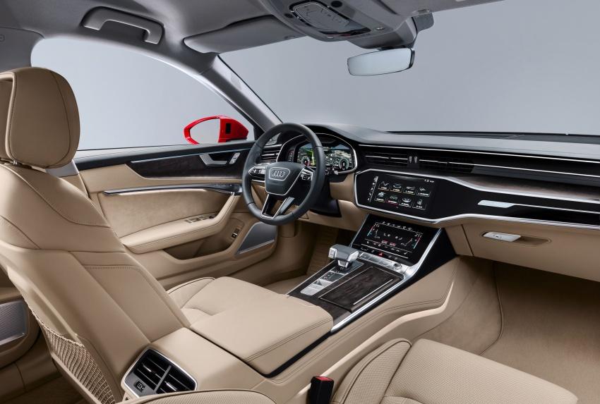 Audi A6 2019 didedah dengan sistem hibrid ringkas Image #784164