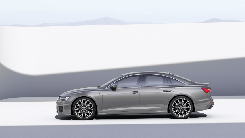 2019 Audi A6 officially revealed with mild hybrid tech Image #784063