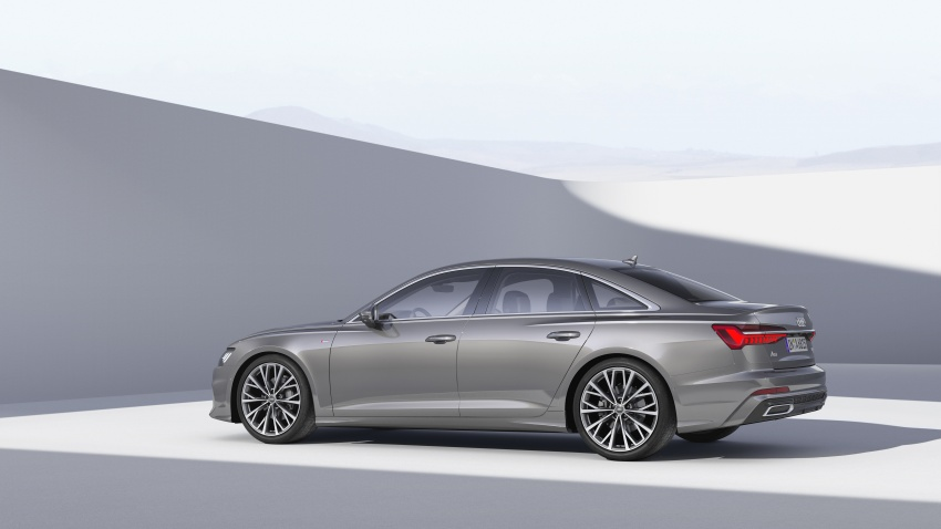 2019 Audi A6 officially revealed with mild hybrid tech Image #784064