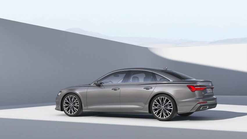 Audi A6 2019 didedah dengan sistem hibrid ringkas Image #784147
