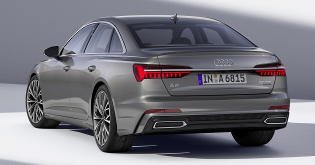 Audi A Officially Revealed With Mild Hybrid Tech - 02 audi a6