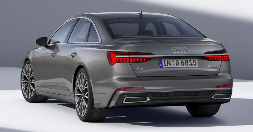 Audi A6 2019 didedah dengan sistem hibrid ringkas Image #784148