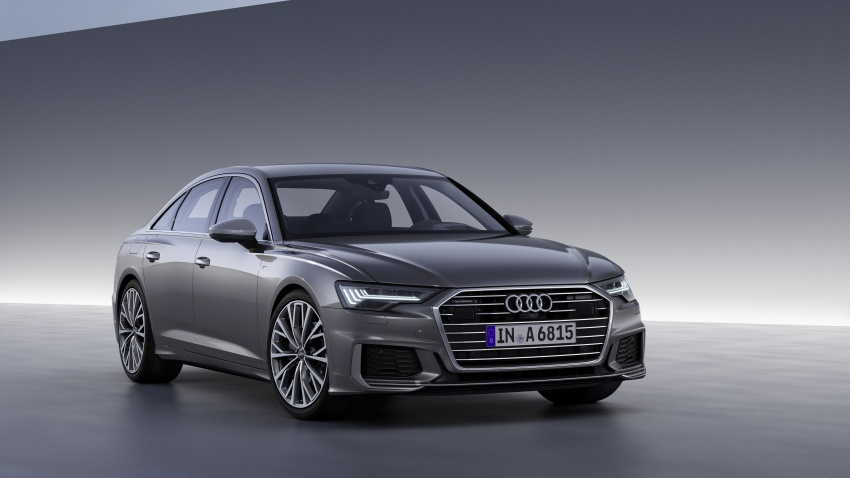 2019 Audi A6 officially revealed with mild hybrid tech Image #784066