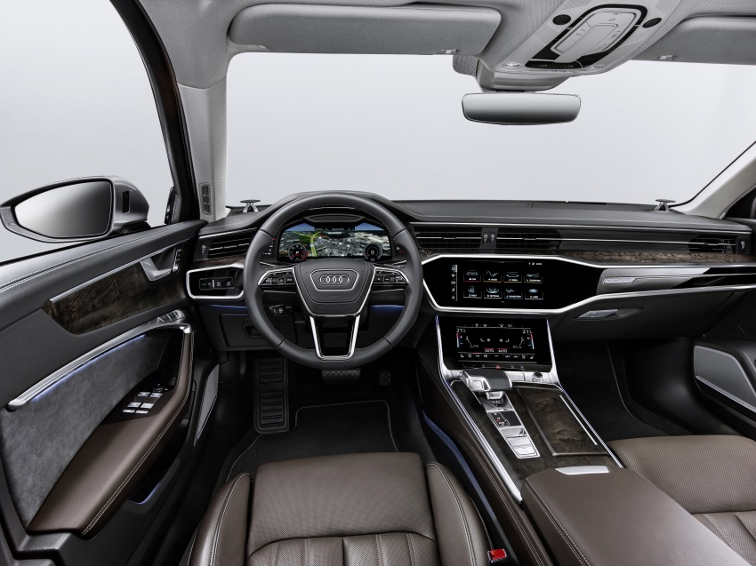 2019 Audi A6 officially revealed with mild hybrid tech Image #784067