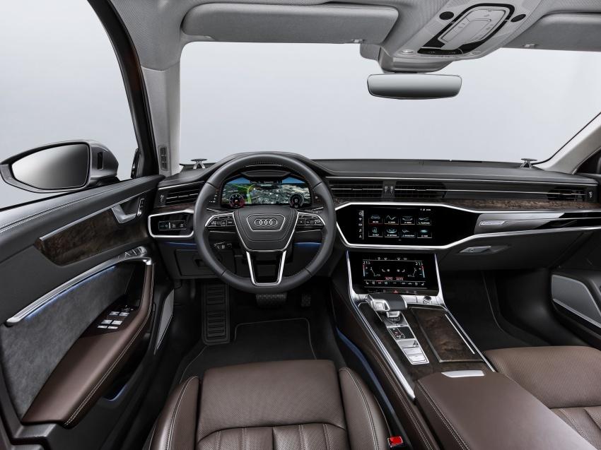 Audi A6 2019 didedah dengan sistem hibrid ringkas Image #784150