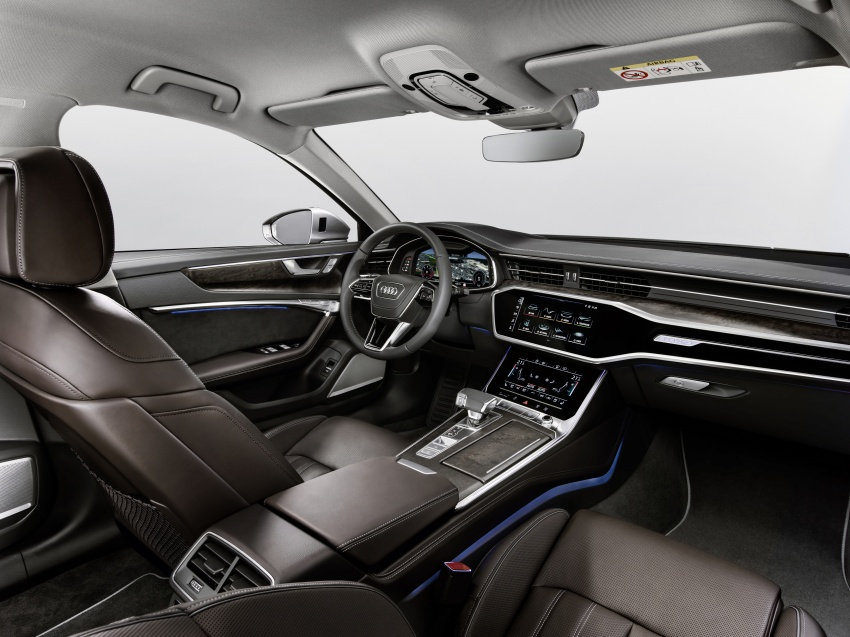 2019 Audi A6 officially revealed with mild hybrid tech Image #784068
