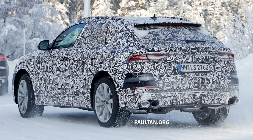 SPIED: 2019 Audi SQ8 to get 470 hp & 700 Nm hybrid? Image #777487
