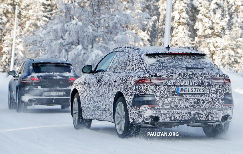 SPIED: 2019 Audi SQ8 to get 470 hp & 700 Nm hybrid? Image #777488