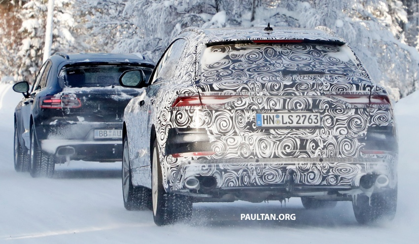 SPIED: 2019 Audi SQ8 to get 470 hp & 700 Nm hybrid? Image #777490