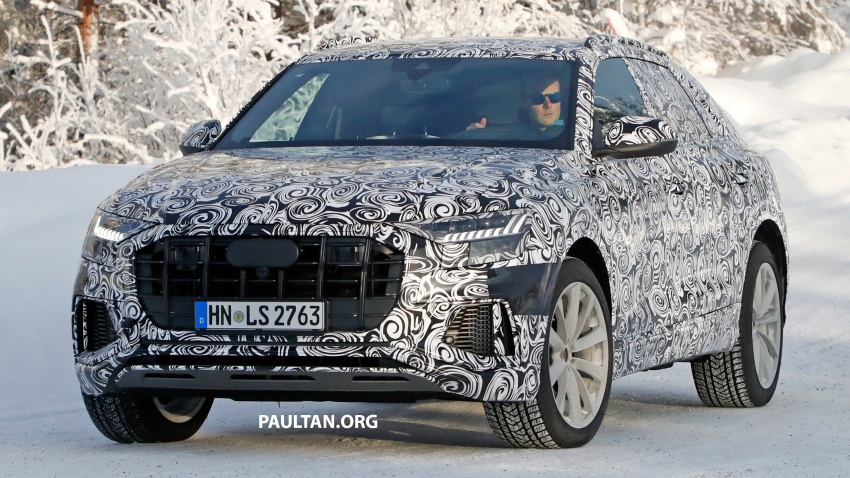 SPIED: 2019 Audi SQ8 to get 470 hp & 700 Nm hybrid? Image #777478
