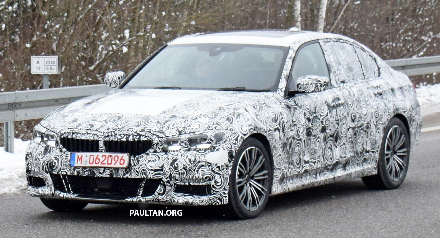 spied g20 bmw 3 series m sport first appearance. Black Bedroom Furniture Sets. Home Design Ideas