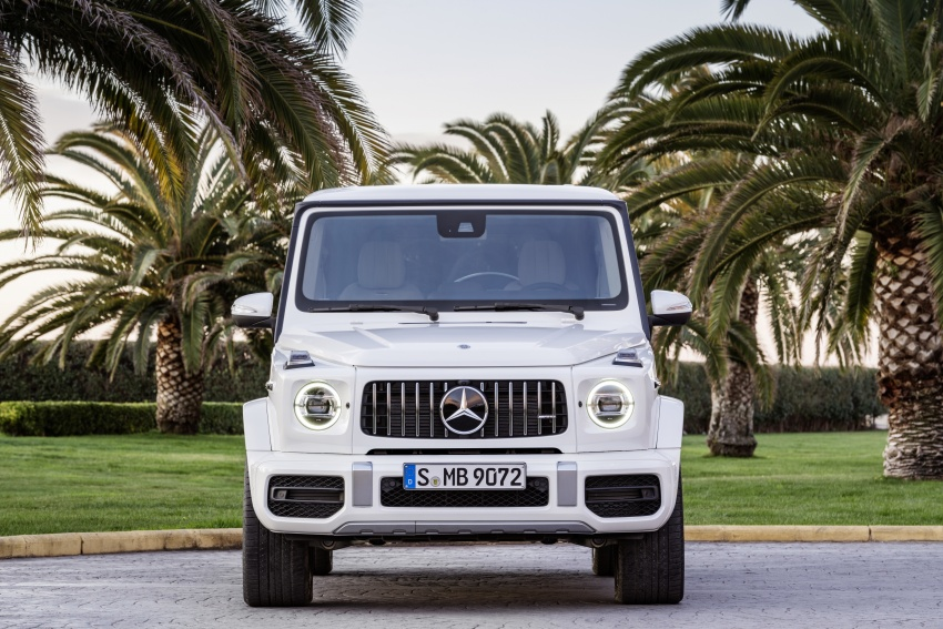2019 Mercedes-AMG G63 – 4.0L V8, 585 hp, 850 Nm Image #778796