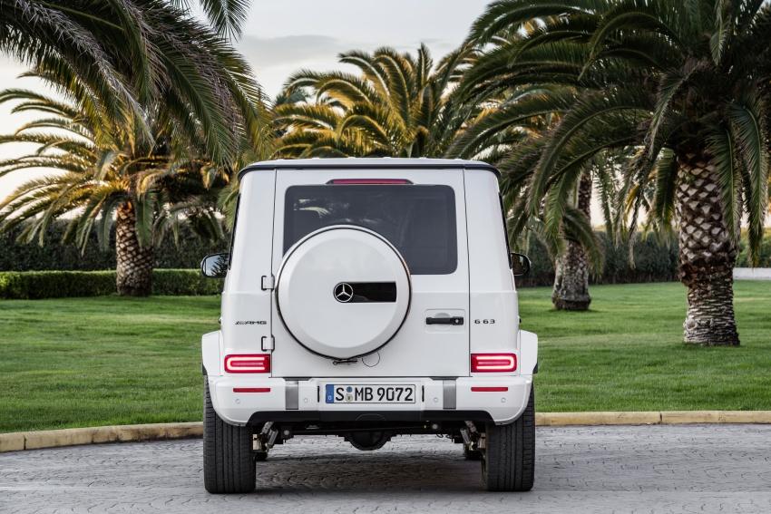 2019 Mercedes-AMG G63 – 4.0L V8, 585 hp, 850 Nm Image #778798