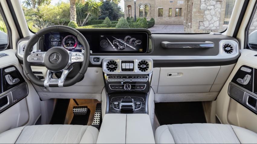 2019 Mercedes-AMG G63 – 4.0L V8, 585 hp, 850 Nm Image #778804