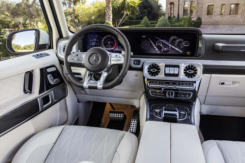 2019 Mercedes-AMG G63 – 4.0L V8, 585 hp, 850 Nm Image #778805