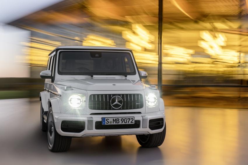 2019 Mercedes-AMG G63 – 4.0L V8, 585 hp, 850 Nm Image #778813