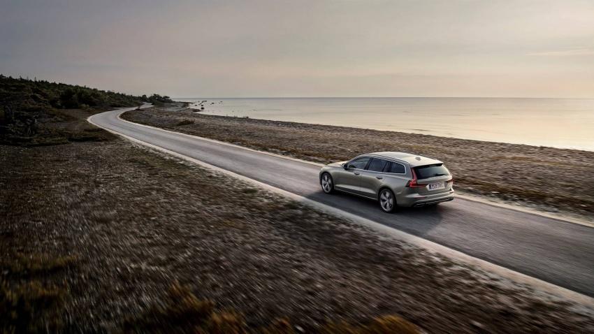 Volvo V60 generasi baharu didedahkan secara rasmi – turut tampil pilihan hibrid <em>plug-in</em> T6 Twin Engine Image #781520
