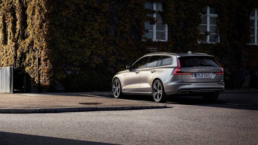 Volvo V60 generasi baharu didedahkan secara rasmi – turut tampil pilihan hibrid <em>plug-in</em> T6 Twin Engine Image #781514