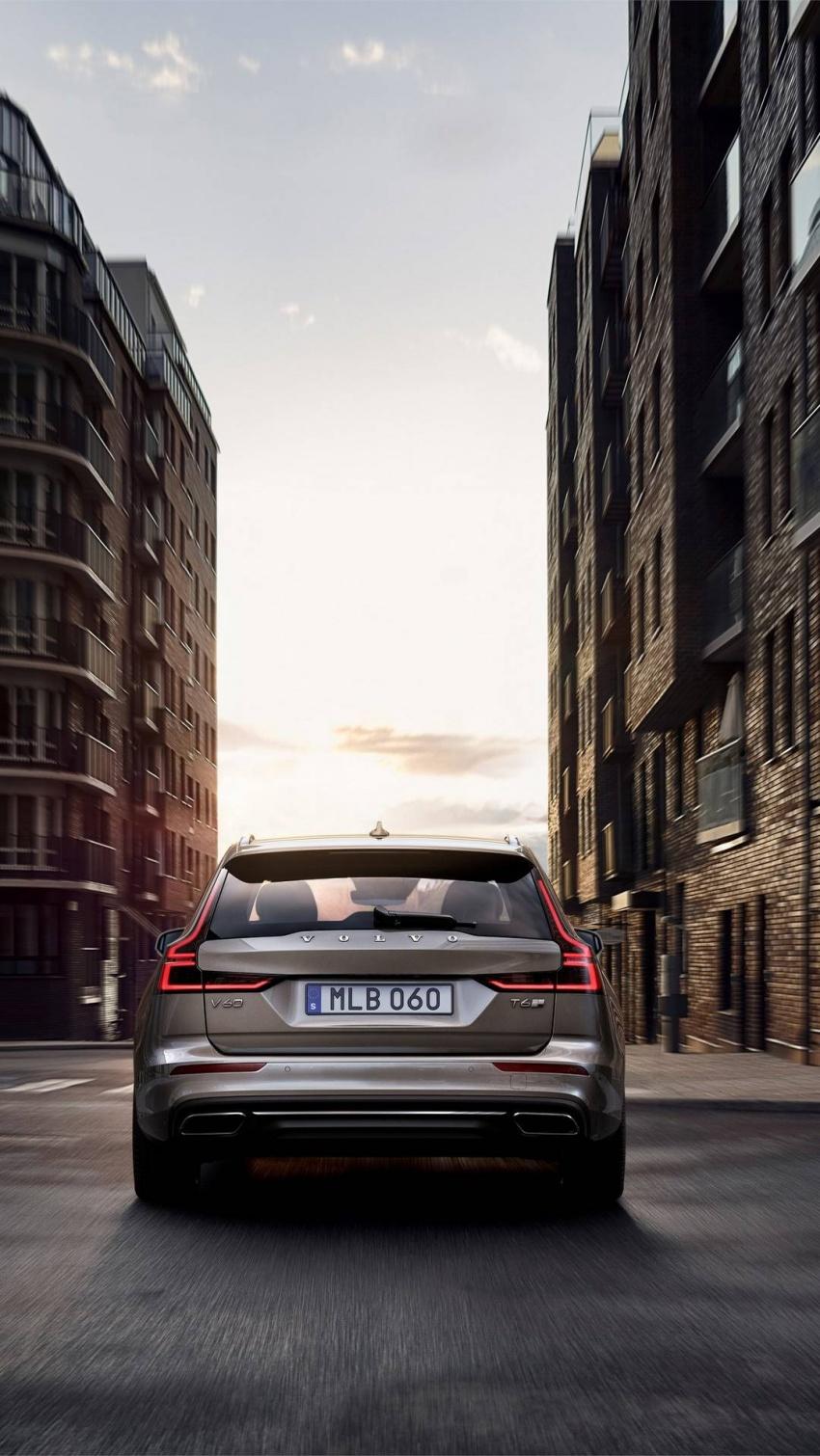 Volvo V60 generasi baharu didedahkan secara rasmi – turut tampil pilihan hibrid <em>plug-in</em> T6 Twin Engine Image #781510