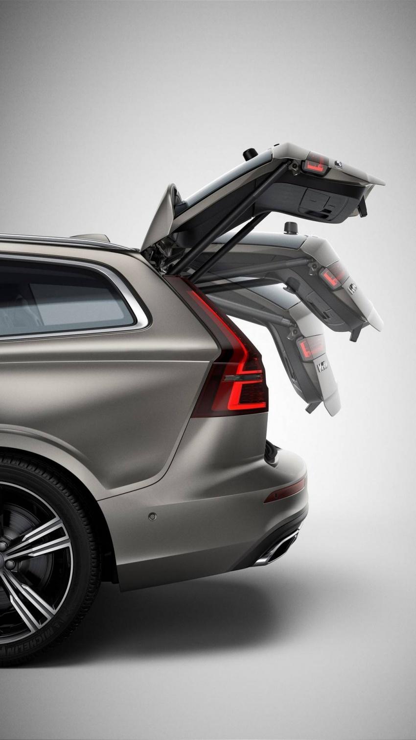 Volvo V60 generasi baharu didedahkan secara rasmi – turut tampil pilihan hibrid <em>plug-in</em> T6 Twin Engine Image #781498