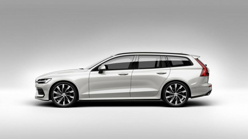 Volvo V60 generasi baharu didedahkan secara rasmi – turut tampil pilihan hibrid <em>plug-in</em> T6 Twin Engine Image #781544