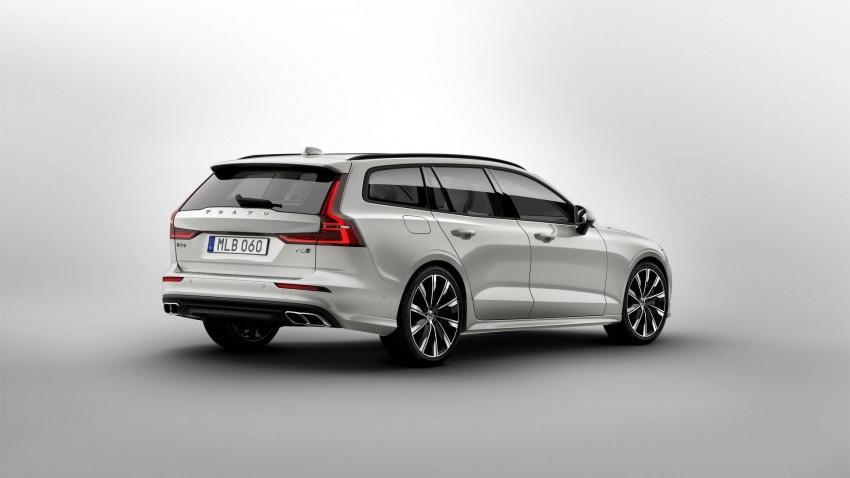 Volvo V60 generasi baharu didedahkan secara rasmi – turut tampil pilihan hibrid <em>plug-in</em> T6 Twin Engine Image #781543