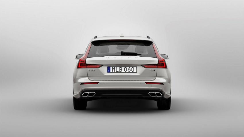 Volvo V60 generasi baharu didedahkan secara rasmi – turut tampil pilihan hibrid <em>plug-in</em> T6 Twin Engine Image #781541