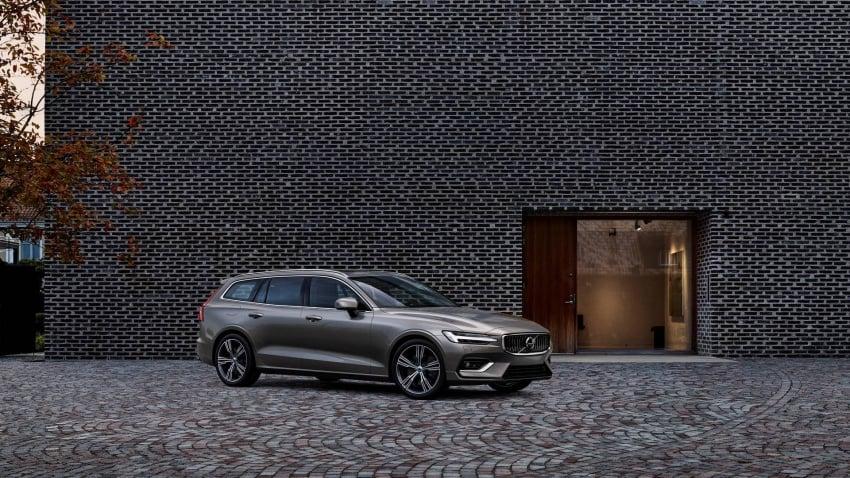 Volvo V60 generasi baharu didedahkan secara rasmi – turut tampil pilihan hibrid <em>plug-in</em> T6 Twin Engine Image #781537
