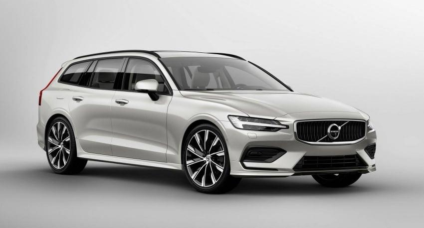 Volvo V60 generasi baharu didedahkan secara rasmi – turut tampil pilihan hibrid <em>plug-in</em> T6 Twin Engine Image #781549