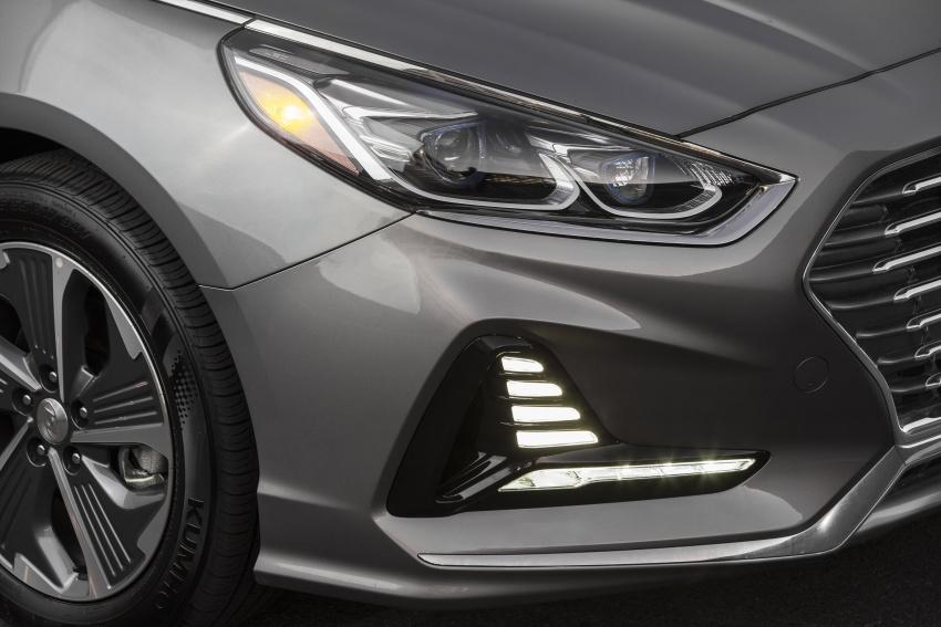 2018 Hyundai Sonata Hybrid, Plug-in Hybrid facelift revealed – 43 km EV driving, over 1,000 km range Image #777251